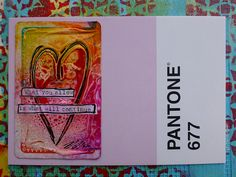Recycled Playing Card Postcards   by nikimaki