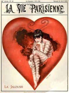 La Vie Parisienne (April 21, 1928) by Chéri Hérouard
