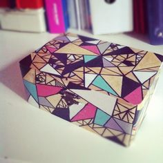 diy jewelry box - Love the pattern! I would woodburn the design on though.