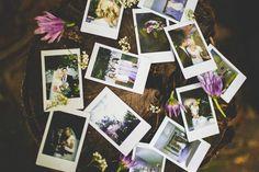 Tyson French photography. Wedding Polaroids