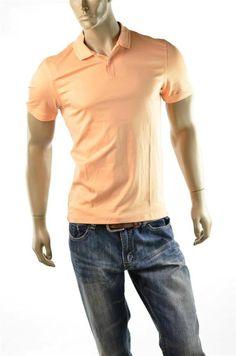 Calvin Klein Shirt Mens CK Liquid Cotton Shirts Soft Body Polo Sz S Small NEW