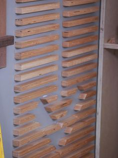 How to Design a Wood Slat Wall >> http://www.diynetwork.com/how-to/rooms-and-spaces/walls-and-ceilings/2015/how-to-design-a-wood-slat-wall?soc=pinterestbc15