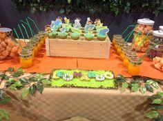 Happy birthday tema giungla