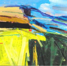 Summer on the Downs 2 Print by Peter Iden
