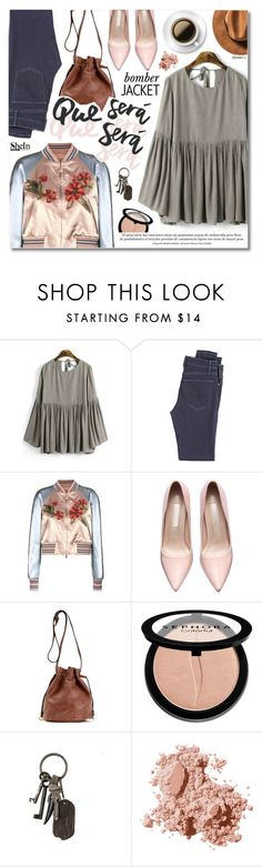 """""""Que Sera, Sera"""" by talukder ❤ liked on Polyvore featuring McGuire Denim, Valentino, Sephora Collection, AllSaints, Bobbi Brown Cosmetics, women's clothing, women, female, woman and misses"""