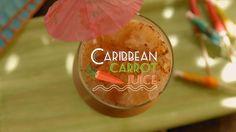 Suco de Cenoura Caribenho | Tá com Sede?