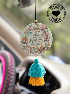 Cute Car Air Freshener, Sweet Sixteen Gifts, Cute Car Accessories, Faux Succulents, Lavender Scent, Cute Cars, Natural Life, Art Plastique, Clay Crafts