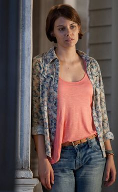 Maggie (Season 2) from The Walking Dead Then & Now: See How Much The Zombie Apocalypse Changed the Cast