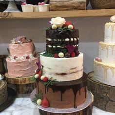 tarta buttercream naked, seminake y dripp de chocolate Chocolate, Cake, Desserts, Food, Tailgate Desserts, Deserts, Kuchen, Essen, Chocolates