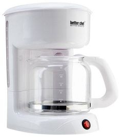 Better Chef - 12-Cup Coffeemaker - White, 91580120M