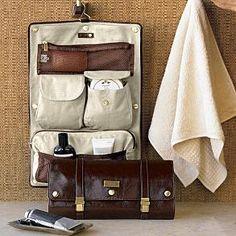 leather excursion travel case $130