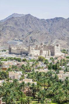 Beautiful city of Bahla, Oman