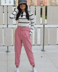 Las 36 mejores imágenes de Pantalon rosa zara | Pantalones