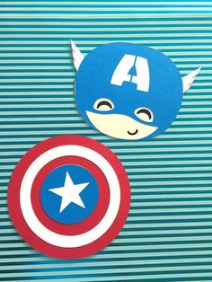 Captain America invitation - Avengers themed party decorations!