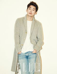 Yoon Kye Sang - Elle Magazine November Issue '15