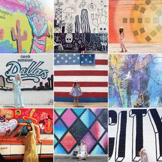Here is a list of Dallas' best murals found on the streets of downtown Dallas.