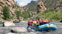 For my 50th birthday, I'd like to take a multi-day whitewater rafting trip with my best friends, where the guides do all the hard work -- pitch the camp, cook the food, clean up -- and we get to enjoy the trip.