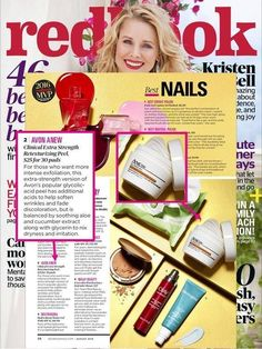 @REDBOOK Magazine named their MVPs and featured our ANEW Clinical Extra Strength Retexturing Peel as a classic product that got even better. #skincare #redbook #avon #antiaging  NEW ONLINE CUSTOMER SHIPPING CODE (one time use): WELCOME-20% off order of $50+ ***Visit my website at youravon.com/vickiallen