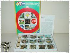 Verkehrszeichen - Memory - Ravensburger - 70er - Spiel. Von vintageschippie bei DaWanda.