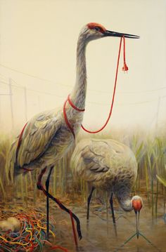 Martin Wittfooth Explores Clash of Contemporary Experience, Nature in New Show Martin Wittfooth, Life Design, New Shows, Surreal Art, Pablo Picasso, Bird Art, Art Tutorials, Illustration Art, Art Illustrations