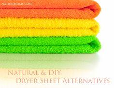 Natural & DIY Dryer Sheet Alternatives » Nature Moms