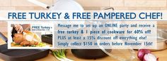 A great bonus to get ahead for the holidays, visit my website for all the latest... www.pamperedchef.biz/HeidiPreston