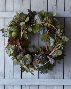 Pumpkin+Wreath+by+Park+Hill+Collections+at+Horchow.