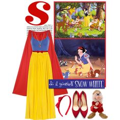 DIY Halloween Costume: Snow White