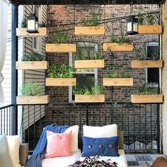 Gorgeous Pretty Privacy Fence Planter Boxes Ideas To Try. Railing Planter Boxes, Deck Planters, Cedar Planter Box, Outdoor Privacy, Backyard Privacy, Backyard Landscaping, Commercial Planters, Cedar Walls, Contemporary Planters