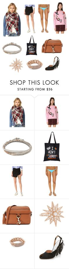 """Think this..."" by donna-wang1 ❤ liked on Polyvore featuring Madewell, Michaela Buerger, Chan Luu, Zhuu, Sandy Liang, Rebecca Minkoff, Shay and Maison Margiela"