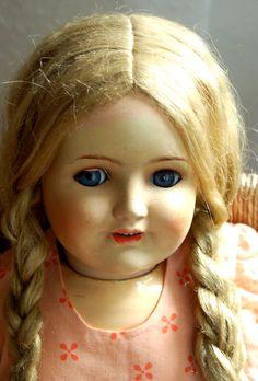 wunderschönes Puppenmädchen - grosse Puppe - gemarkt Luta 9 Germany - 84cm | eBay