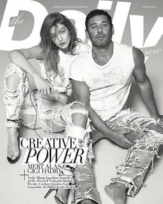 DIARY OF A CLOTHESHORSE: Gigi Hadid & Mert Alas cover The Daily Front Row S...