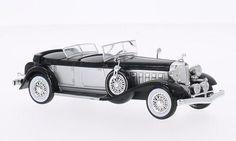 Chrysler Imperial Le Baron Phaeton 1933 silber/schwarz 1:43 Whitebox