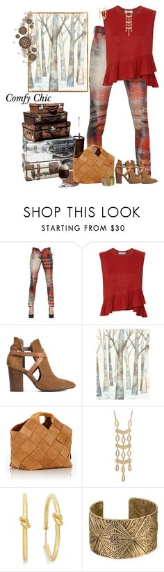 """""""Comfy Chic"""" by skpg ❤ liked on Polyvore featuring Vivienne Westwood Anglomania, A.L.C., H London, WALL, Loewe, Stella & Dot and Kate Spade"""