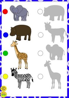Shape Worksheets For Preschool, Animal Worksheets, Preschool Learning Activities, Toddler Learning, House Drawing For Kids, Preschool Homework, Theme Nature, Activity Sheets For Kids, Educational Games For Kids