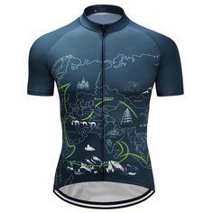 Mens Summer Team Bike Cycling Jerseys Short Sleeve Maillot Ropa Ciclismo Shirt