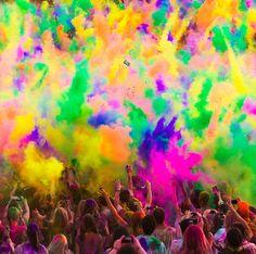 Image detail for -Coloridas fotografías del Holi Festival of Color en EUA por Thomas ...