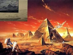 Is This A Valley Of Pyramids On Mars?   The Fortean Slip
