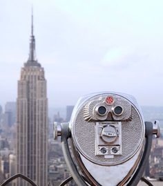 The Top of the Rock Observation Deck at Rockefeller Center see unparalleled views of Manhattan.