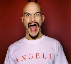 Tim Booth - James - dances like a rubber band, he's awesome!
