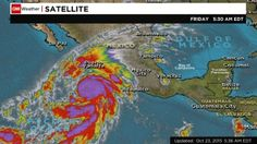 @Cnn : #HurricanePatricia -- the strongest #hurricane ever recorded -- made landfall on Mexico's Pacific coast about 6:15 Friday evening (7:15 ET),      First Signs of Hurricane Patricia Arrive in #Mexico   @weatherchannel   The first images of the type of winds a category five hurricane can cause, as #HurricanePatricia makes its arrival in Manzanillo, Mexico.     CNN.com