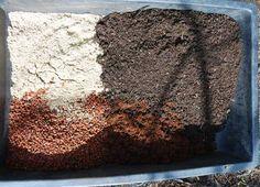 Garden Soil Vs Potting Soil  how to make your own potting soil coarse builders sand spag peat basic potting soil recipe workwithnaturefo