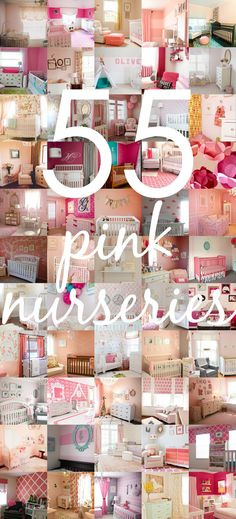 Project Nursery's Favorite Pink Nurseries - from soft and sweet to bold and eclectic!