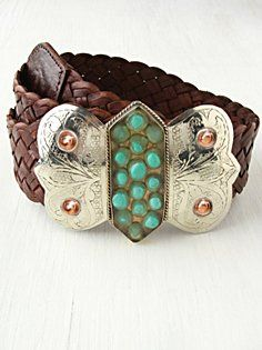 Ornate Buckle Belt in accessories-belts
