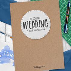 Wedding Planner Guide Journal Notebook
