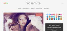 Perfect wordpress theme for mac os fans!  http://goo.gl/4Rl7Ij  #wordpress  #webdesign #yosemite #html5   #responsive