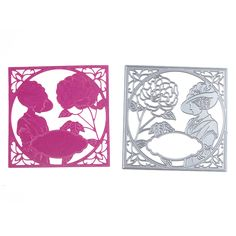 Elegant Lady With Flower Cutting Dies Scrapbooking Metal Cutting Dies For DIY Decorations Embossing Art Die Cut Home Decor-in Cutting Dies from Home & Garden on Aliexpress.com | Alibaba Group