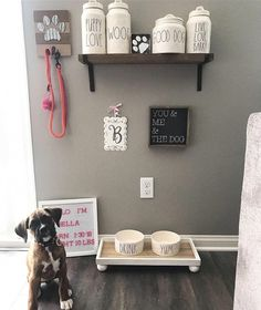 puppy room ideas spaces bedrooms * puppy room ideas spaces & puppy room ideas spaces decor & puppy room ideas spaces bedrooms & puppy room ideas spaces built ins & puppy room ideas diy spaces Dog Bedroom, Room Ideas Bedroom, Animal Room, Dog Room Decor, Pet Decor, Dog Station, Puppy Room, Dog Organization, Dog Spaces