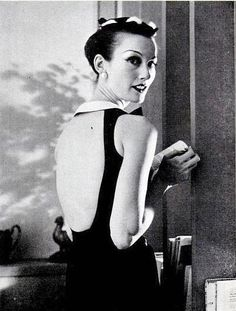 Eloise Curtis worn here by Mary Jane Russell, photo by William Helburn, 1956