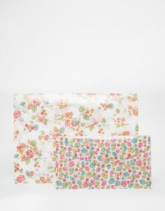 Image 1 ofCath Kidston Set of 2 A4 Printed Wallets